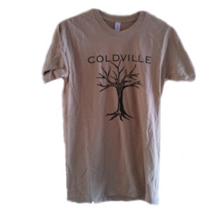 Coldville Tree Adult Tan Tee